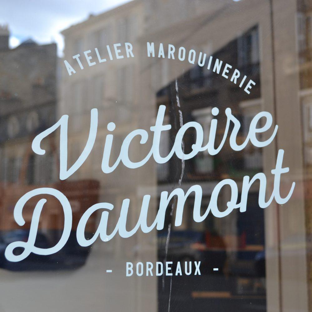 Victoire Daumont – Atelier Maroquinerie