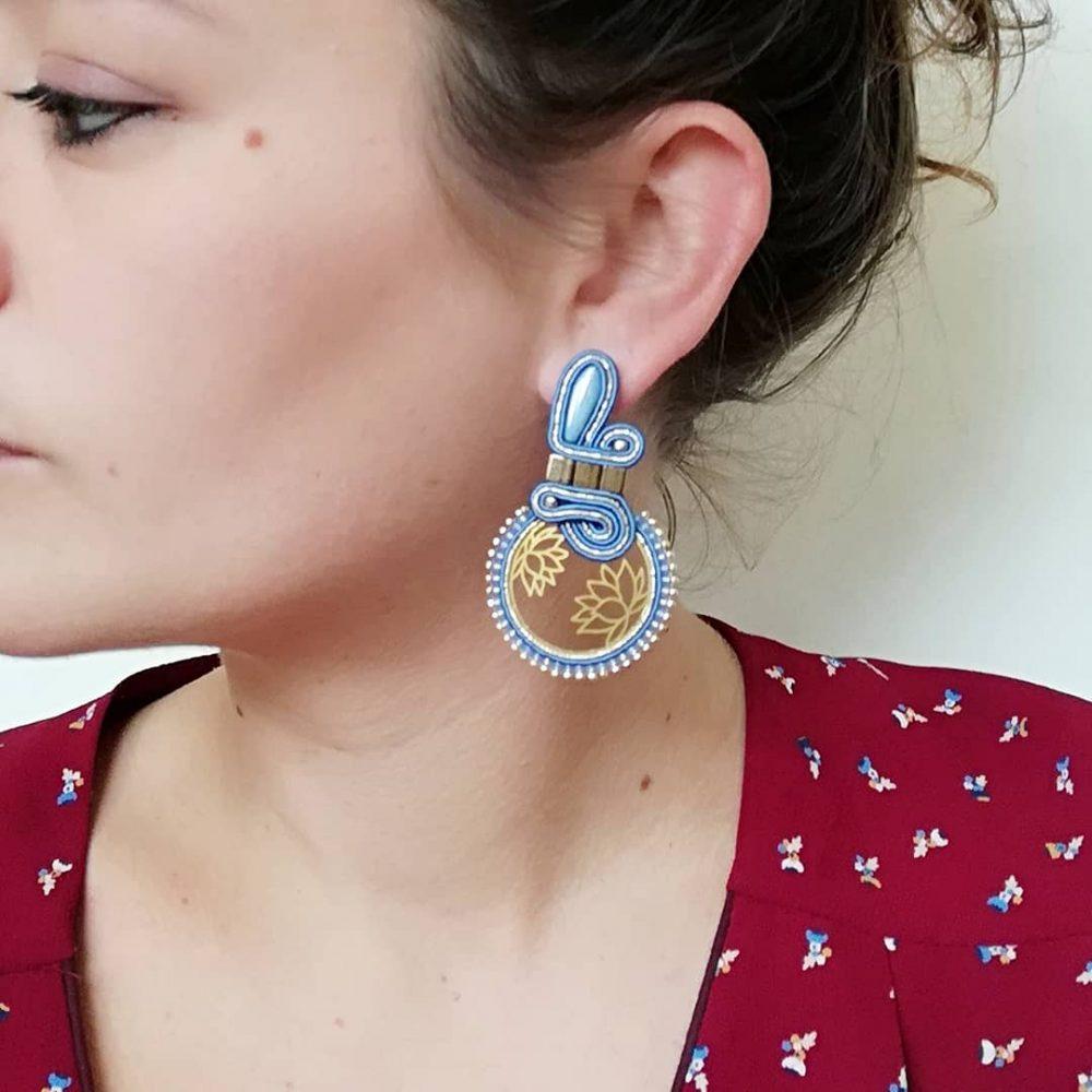boucle d'oreille waxebo