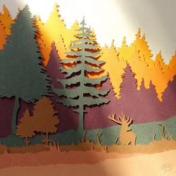 Au Detour du Papier - paysage d'automne