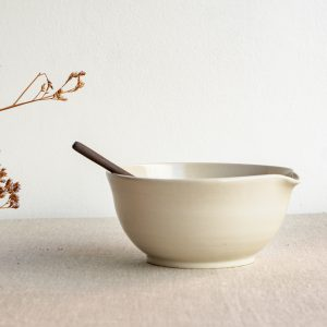 Natural cooking bowl, stoneware TerraTerra Collection