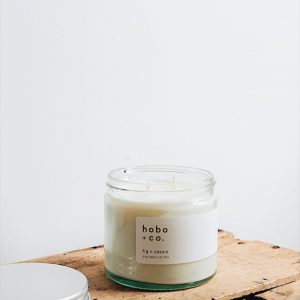 Fig + Cassis Large Soy Candle