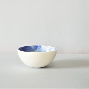 Porcelain bowl blue and white – READY TO SHIP