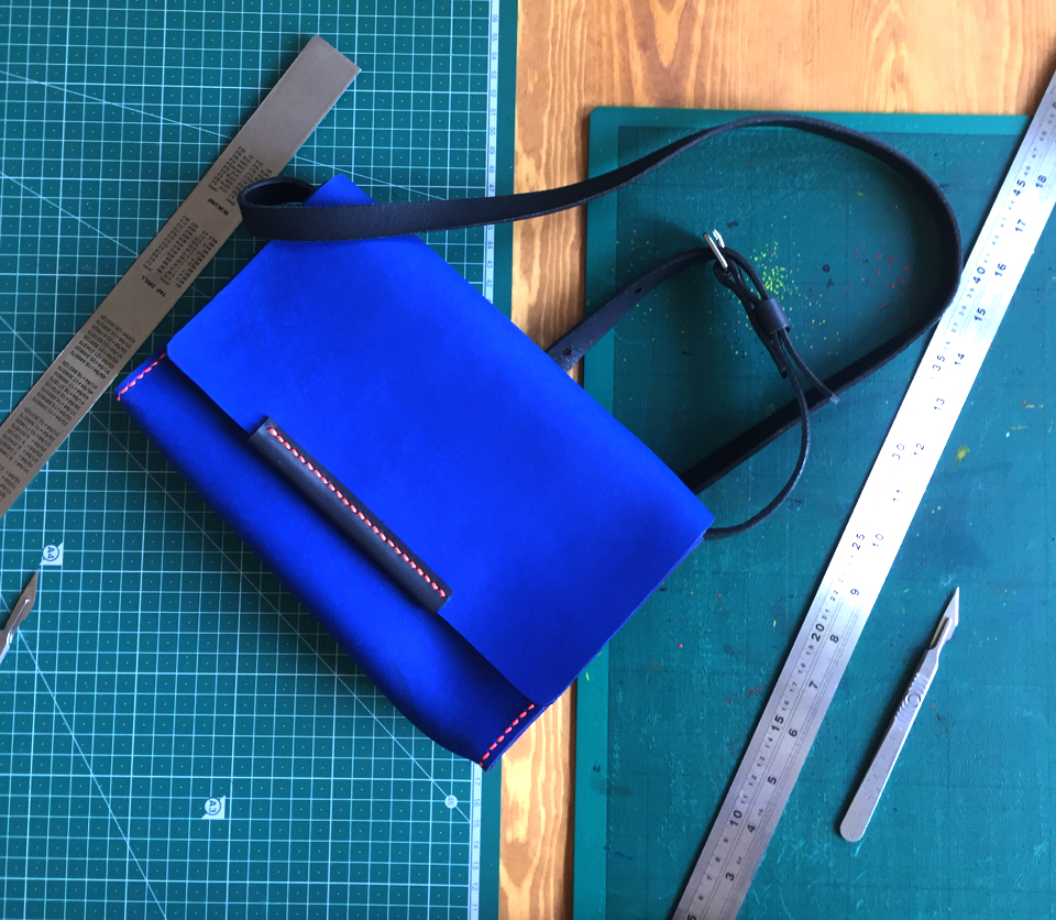 Leather handbag making workshop