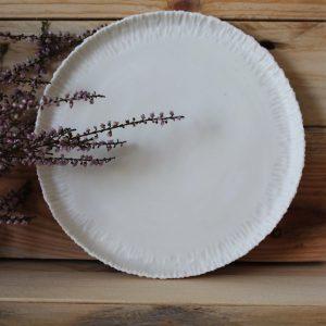 Set 2 assiettes à dessert en porcelaine