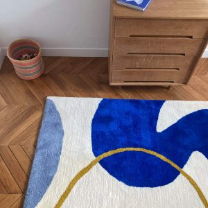 Tapis «Abstract» / Grand format 100×160 /  Sur commande
