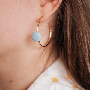 Boucles d'oreille SATURNE