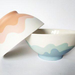 Grand bol en porcelaine