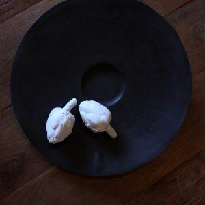 Artichaut en porcelaine