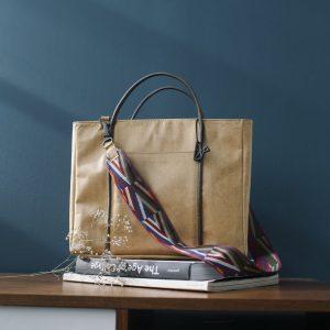 Virginia: Shopper bag |Couleur camel
