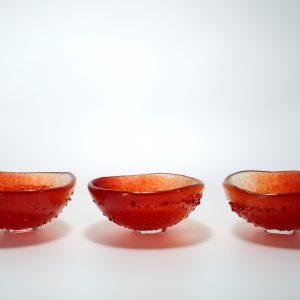 Turning Bowl rouge