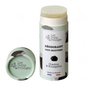 Déodorant naturel solide Charbon & Eucalyptus