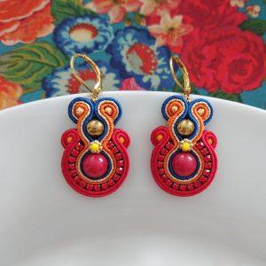 Boucles d'Oreilles « Tila mia »