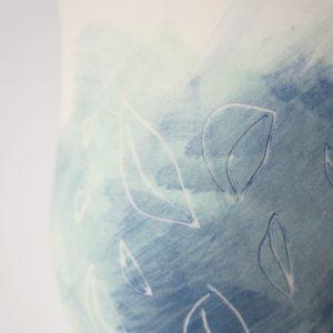 Ensemble 2 bols ronds «Bleu»