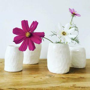 Vase Facettes Grand Modèle