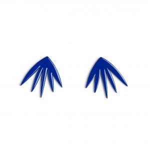 Boucle d'Oreille PETULA Bleu klein