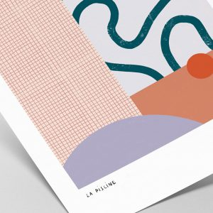 La Piscine — Art print