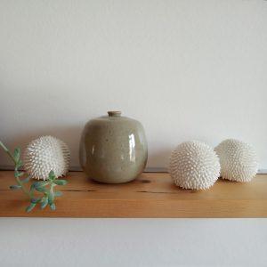 Oursin en porcelaine