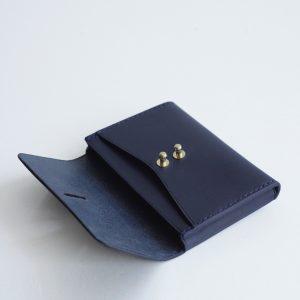 Porte-monnaie Astrée bleu nuit