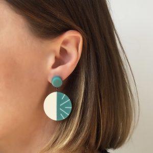 Boucles d'oreilles Lunula