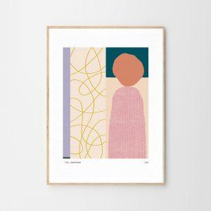 The lighthouse — Art print