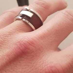 Bague Homme Leathery
