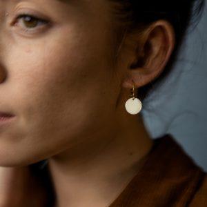 Boucles d'oreilles BROOKLYN courtes