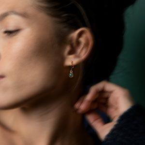 Boucles d'oreille IMI pierres naturelles