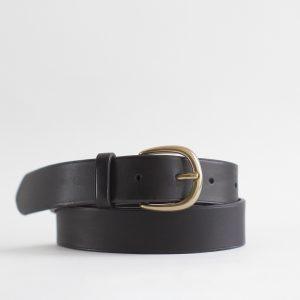 Large ceinture en cuir, 6 coloris