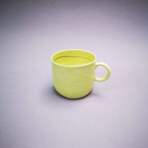 tasse expresso jaune