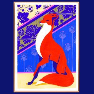 Fox – 20 x 28.5 cm