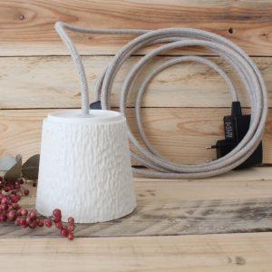 Flâneuse fil 4 mètres câble lin
