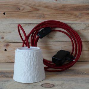 Flâneuse fil 4 mètres rouge piment