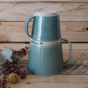 Duo vert d'eau  café et thé