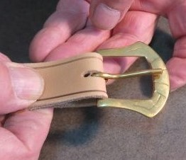 Votre ceinture en cuir: faites-la vous-même !