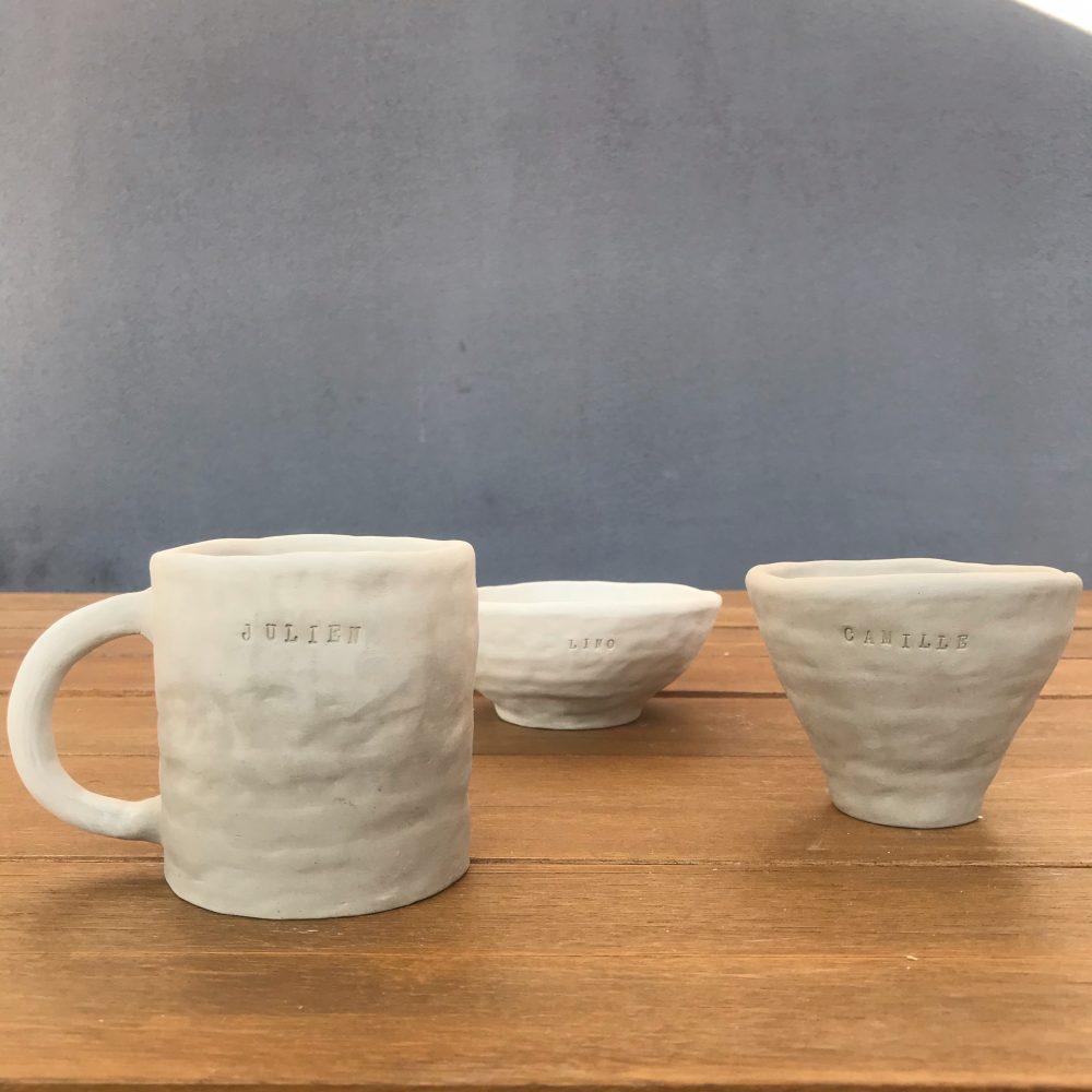 Modelez votre mug ou bol personnalisé
