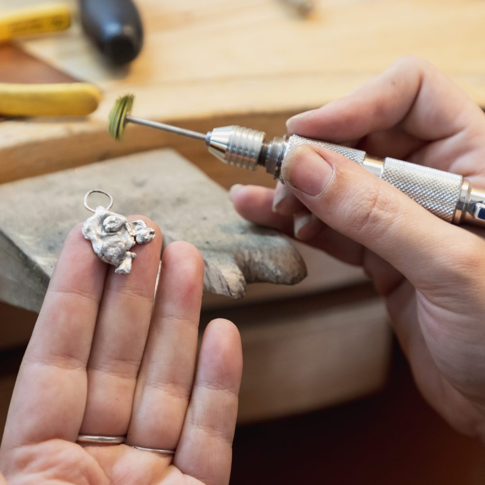 Fabriquez un bijou à partir d'une pépite